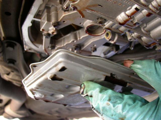 Mercedes Transmission Fluid Change